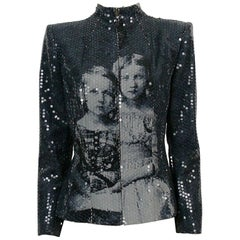 Alexander McQueen Fall Winter 1998 Imperial Romanov Princess Sequin Jacket