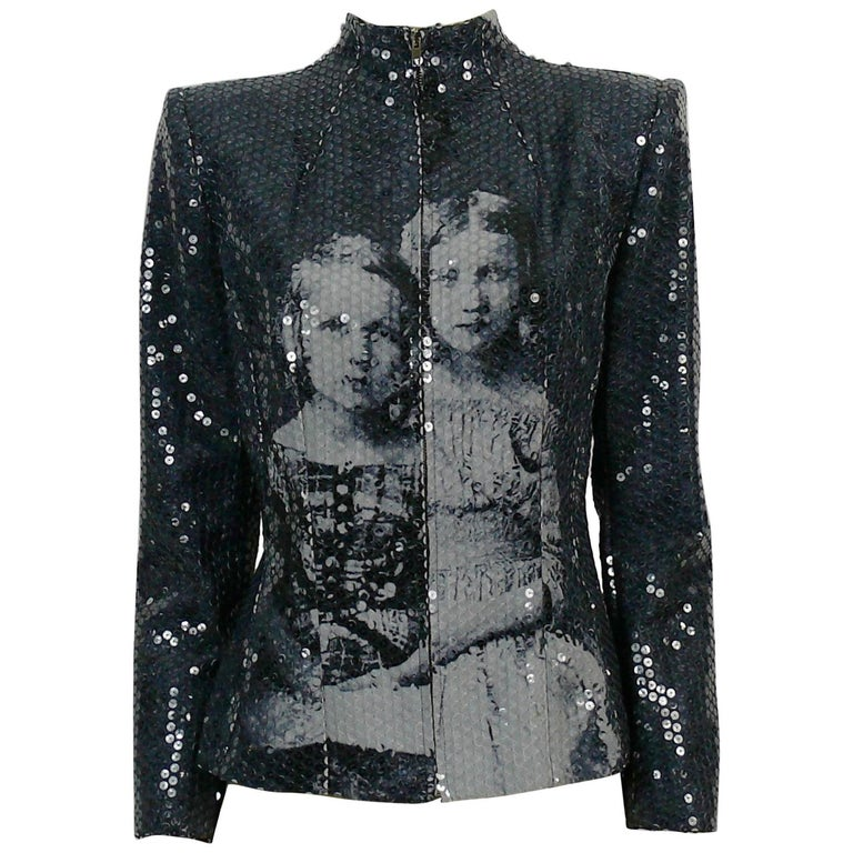 Alexander McQueen Fall Winter 1998 Imperial Romanov Princess Sequin Jacket  For Sale