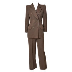 Alexander McQueen for Givenchy Double Breasted Pant Suit