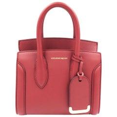 Alexander McQueen Heroine 21 Dark Red Italian Satchel Ladies Bag