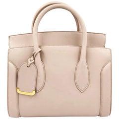 Alexander McQueen Heroine 30 Nude Medium Leather Shoulder Bag 508859DX50M