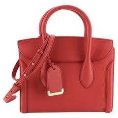 Alexander McQueen Heroine Convertible Tote Leather 30