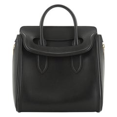 Alexander McQueen Heroine Tote Leather Large