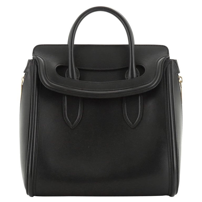 Alexander McQueen Heroine Tote Leather Large For Sale