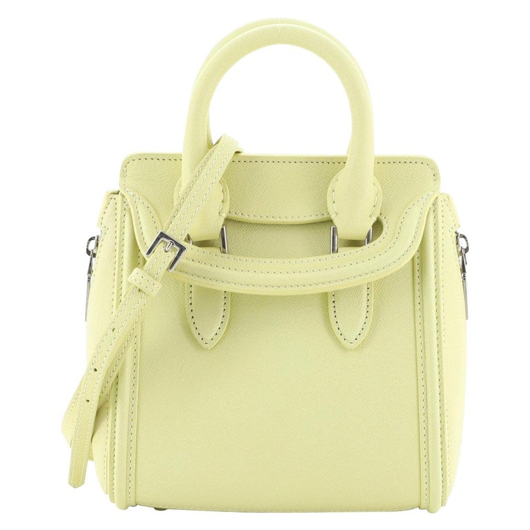 Alexander McQueen Heroine Tote Leather Mini For Sale