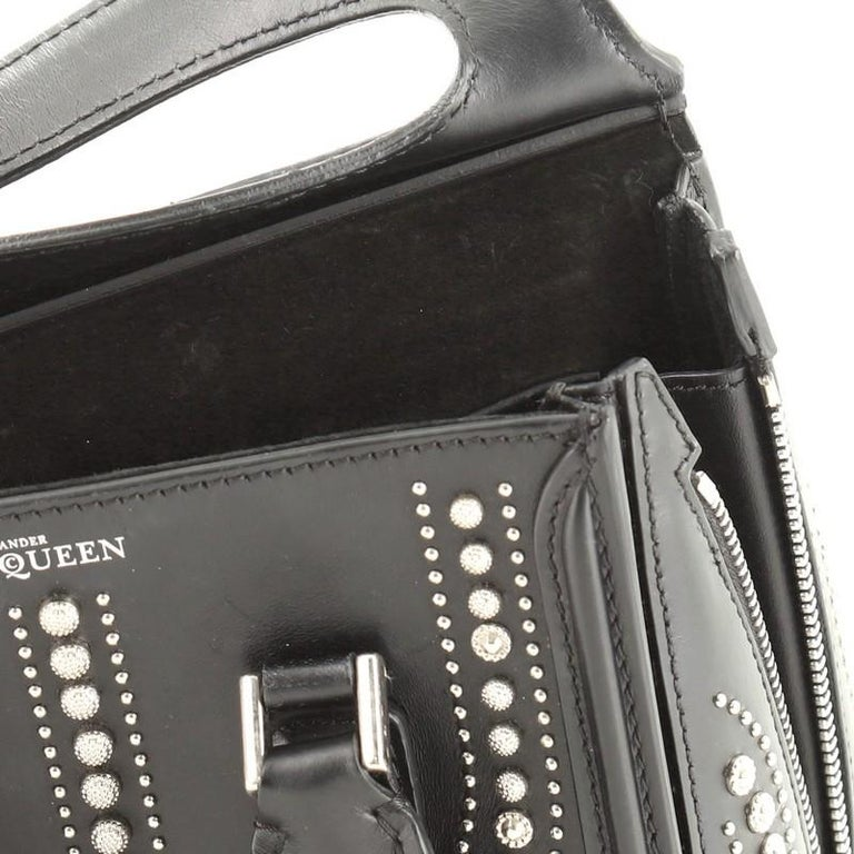 Alexander McQueen Heroine Tote Studded Leather Mini  1