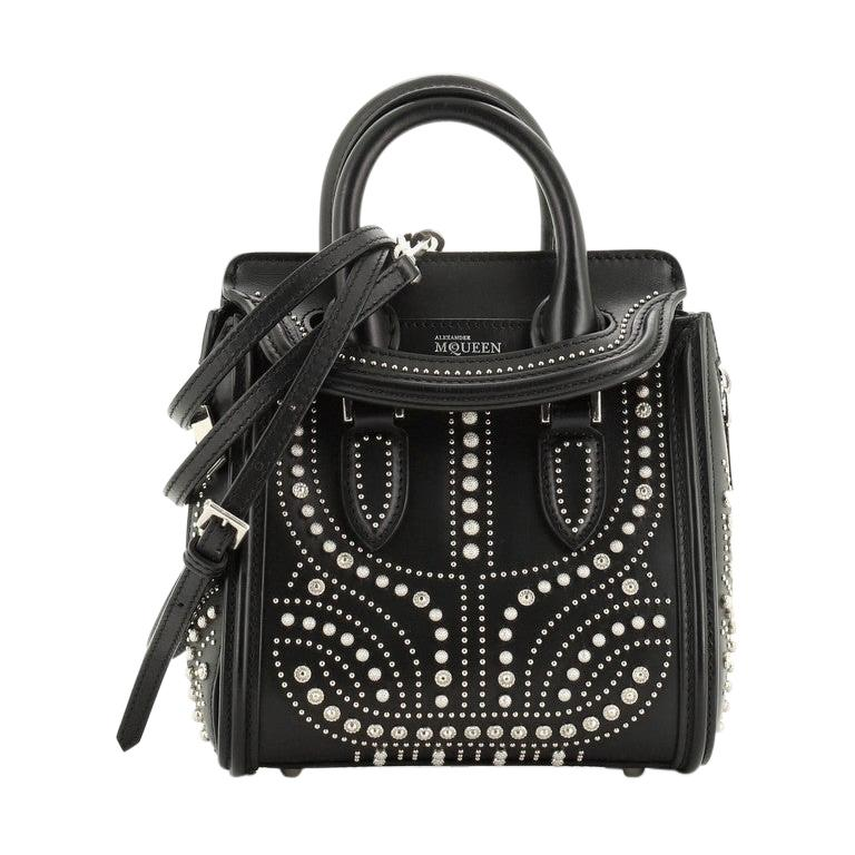 Alexander McQueen Heroine Tote Studded Leather Mini