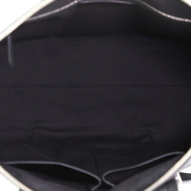 Alexander McQueen Legend Convertible Satchel Woven Leather Medium  For Sale 2
