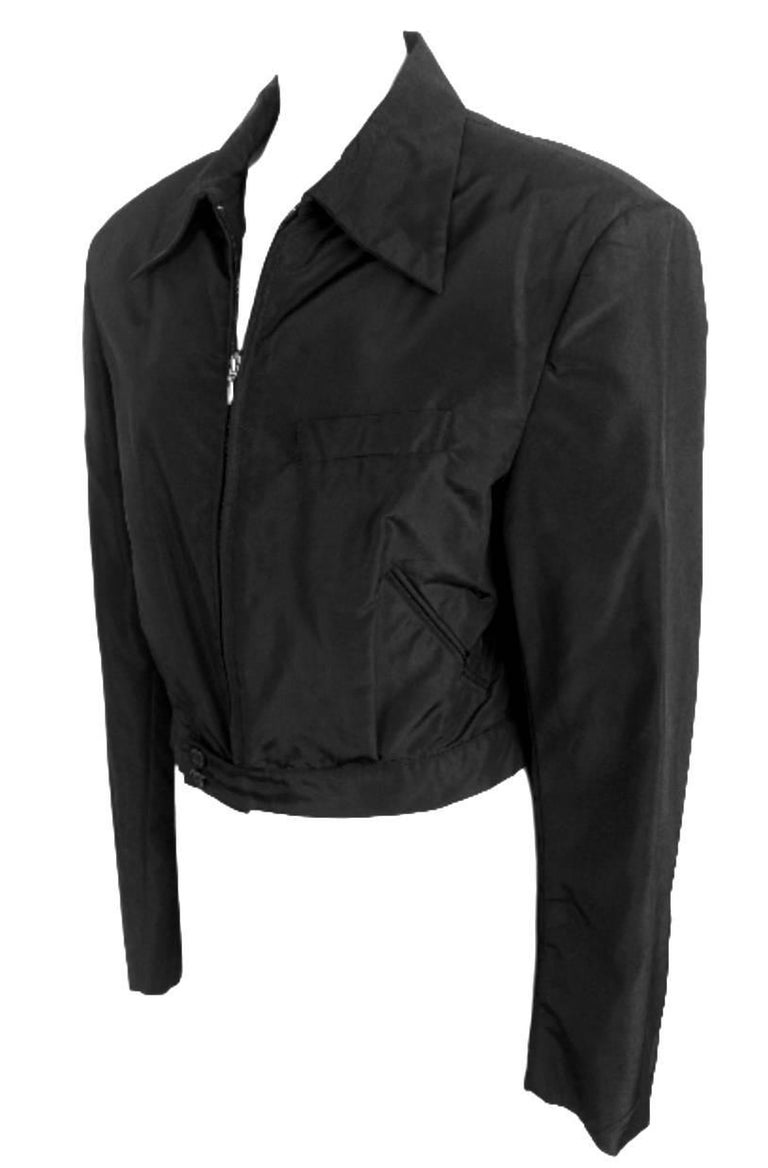 Black Alexander McQueen Mens 1996 Collection Jacket with Date of Birth Label For Sale