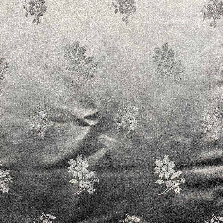 Women's or Men's ALEXANDER MCQUEEN Mixed Fabrics Black Silk Scarf For Sale