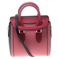 Alexander McQueen Multicolor Leather Mini Heroine Shoulder Bag