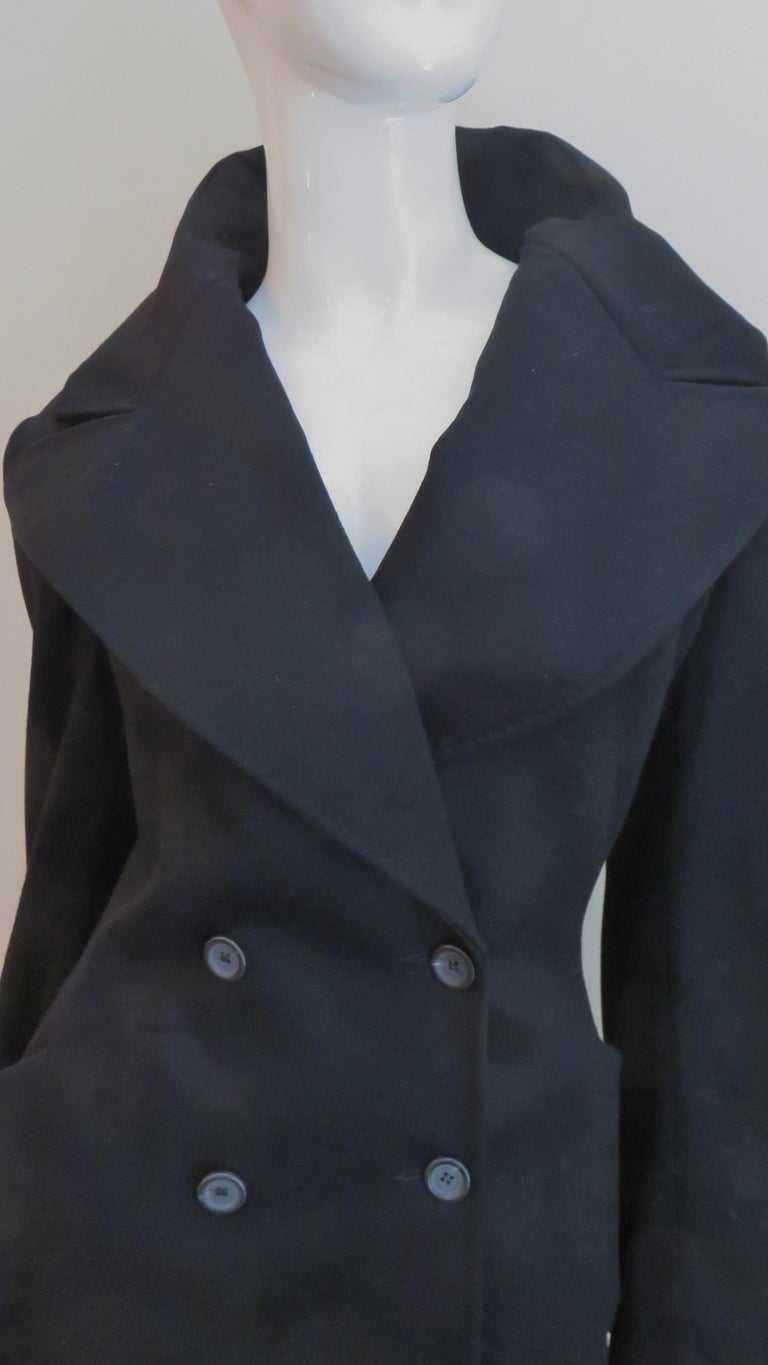 Women's Alexander McQueen New Cashmere Jacket and Skirt A/W 1999 For Sale