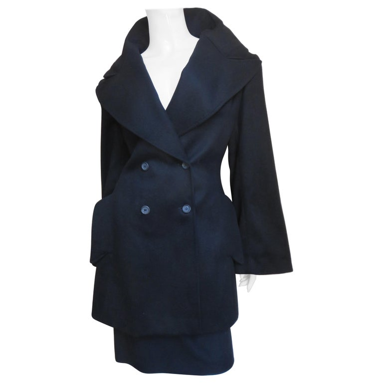Alexander McQueen New Cashmere Jacket and Skirt A/W 1999 For Sale