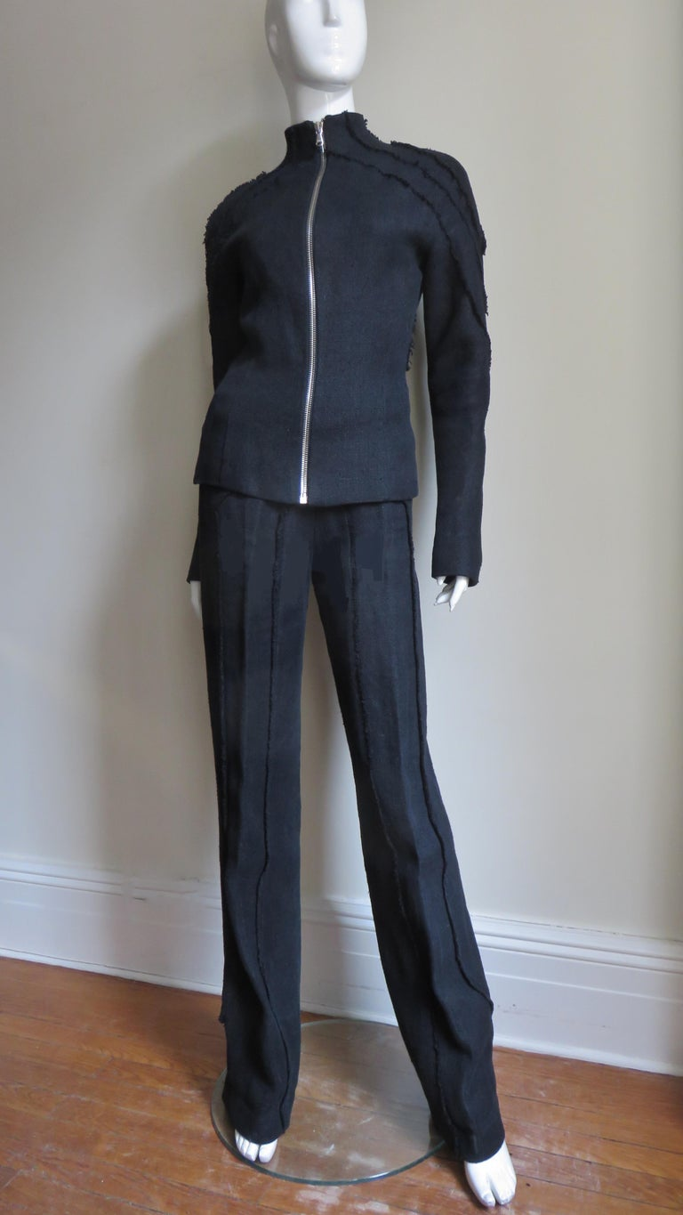 Alexander McQueen New Seamed Jacket and Pants A/W 1999 For Sale 5