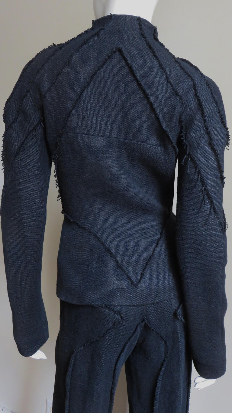 Alexander McQueen New Seamed Jacket and Pants A/W 1999 For Sale 8