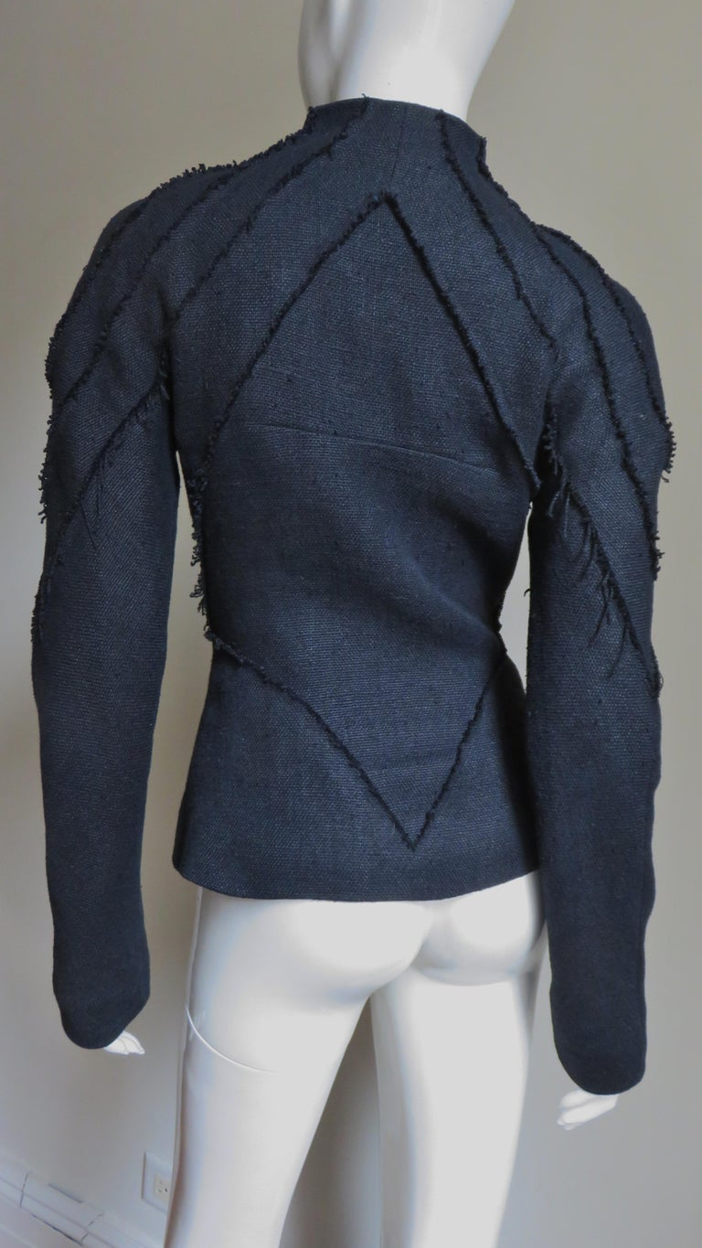 Alexander McQueen New Seamed Jacket and Pants A/W 1999 For Sale 10