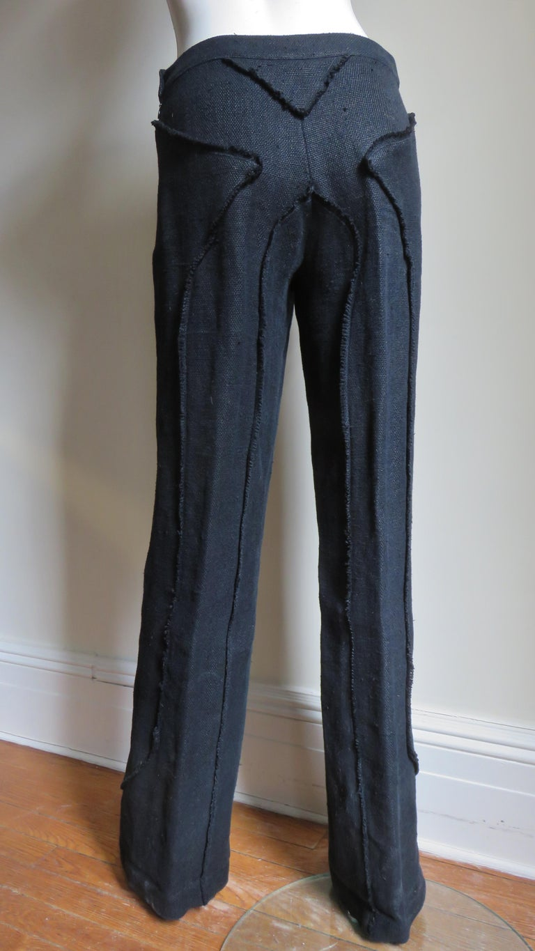 Alexander McQueen New Seamed Jacket and Pants A/W 1999 For Sale 11