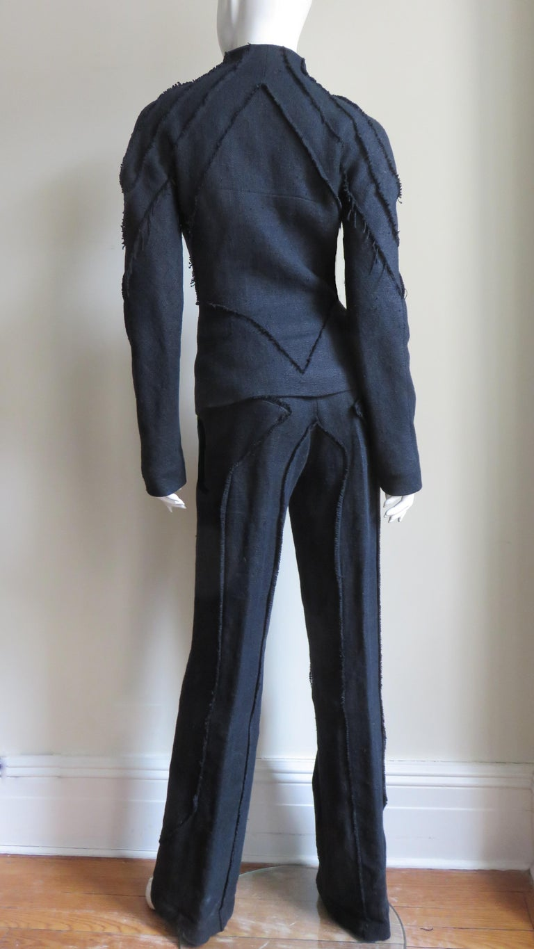 Alexander McQueen New Seamed Jacket and Pants A/W 1999 For Sale 12