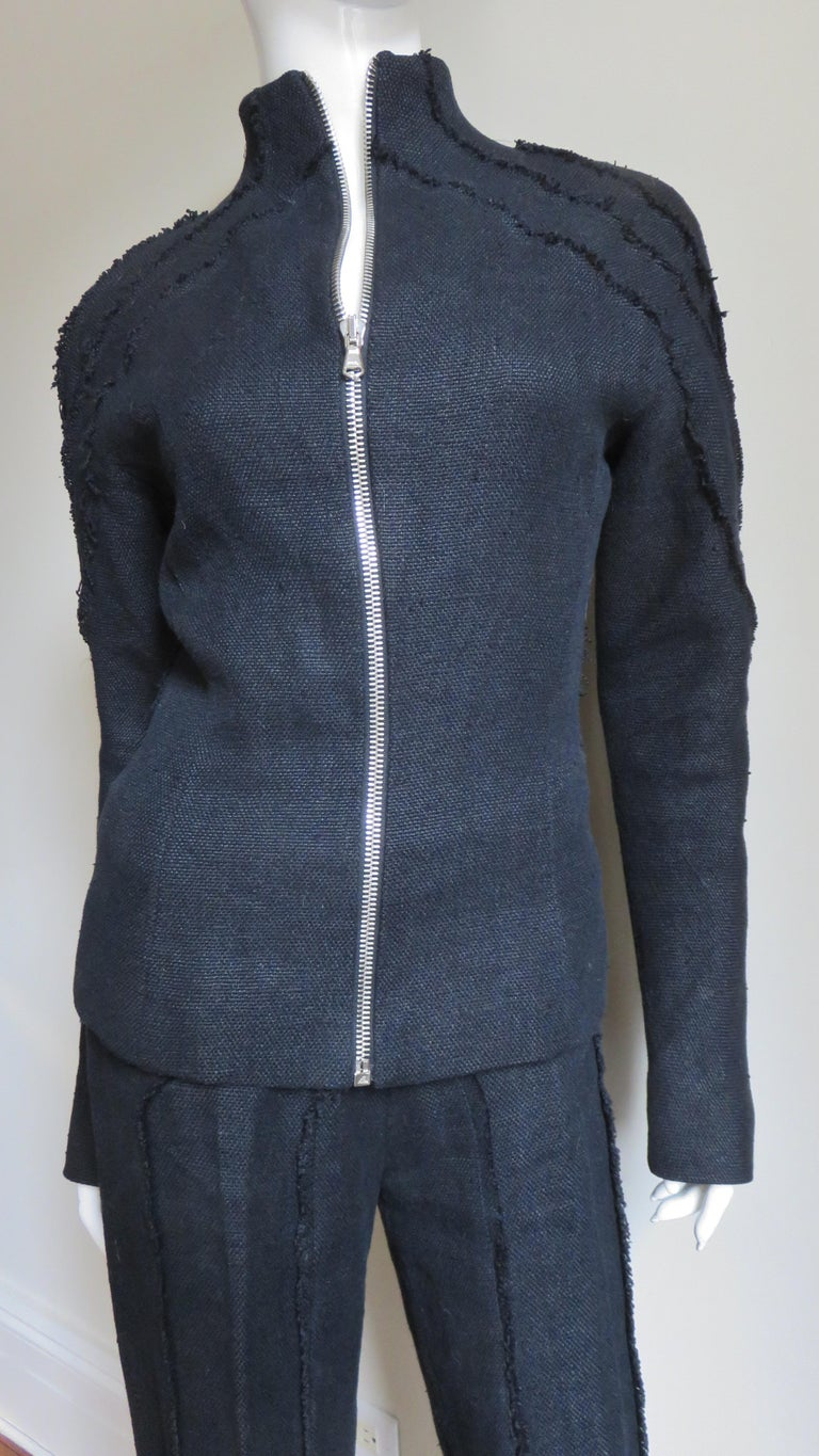 Women's Alexander McQueen New Seamed Jacket and Pants A/W 1999 For Sale