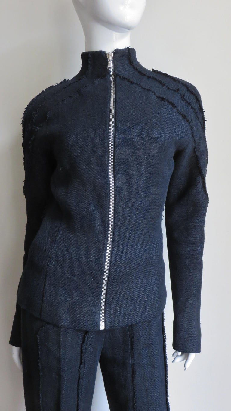 Alexander McQueen New Seamed Jacket and Pants A/W 1999 For Sale 1