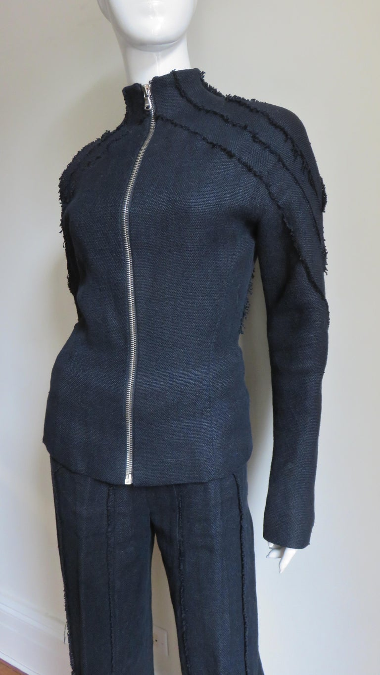 Alexander McQueen New Seamed Jacket and Pants A/W 1999 For Sale 2