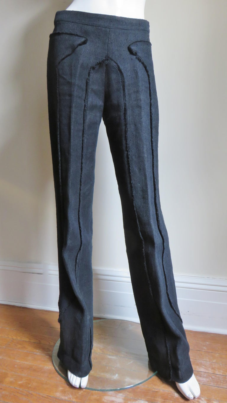 Alexander McQueen New Seamed Jacket and Pants A/W 1999 For Sale 3