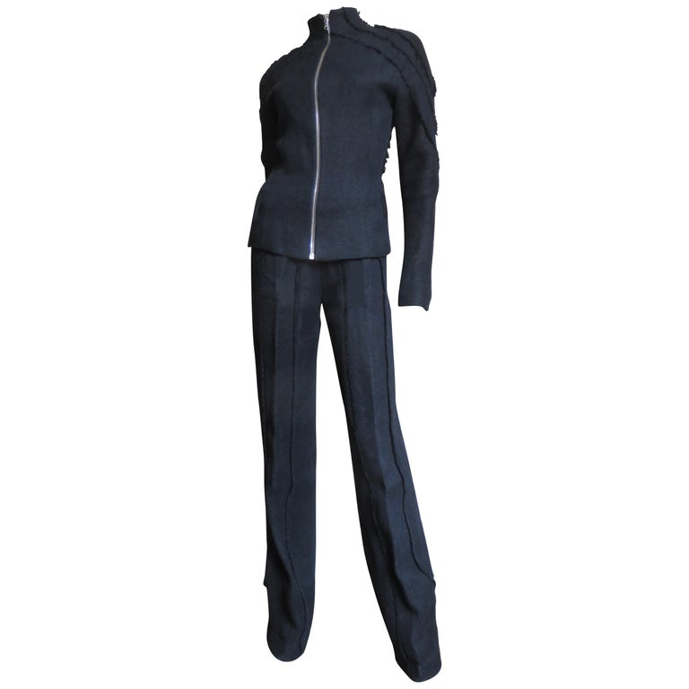 Alexander McQueen New Seamed Jacket and Pants A/W 1999 For Sale