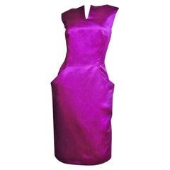 Alexander McQueen New Silk Backless Dress