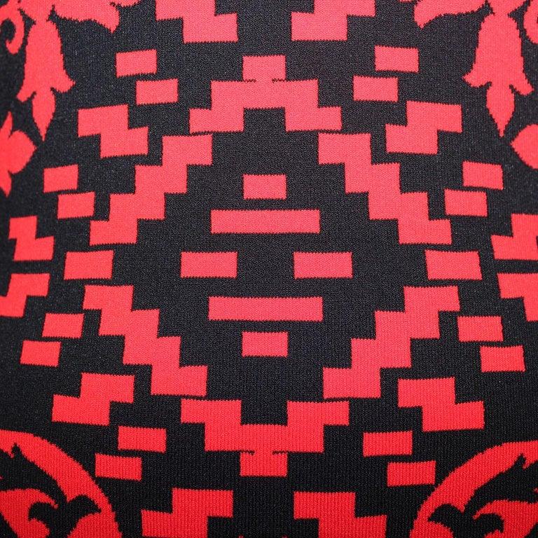 Alexander McQueen Optical Dress M In Excellent Condition For Sale In Gazzaniga (BG), IT