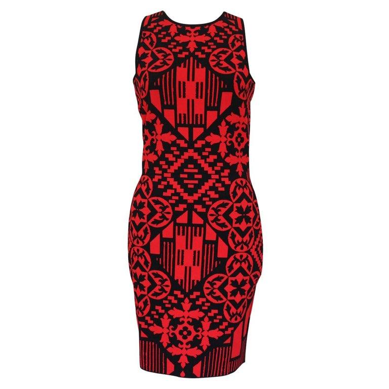 Alexander McQueen Optical Dress M For Sale