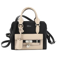 Alexander McQueen Padlock Zip Around Pocket Tote Leather Mini