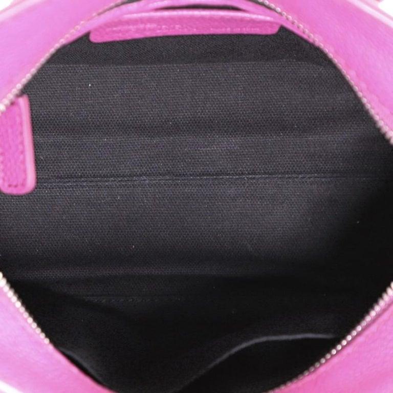 Women's or Men's Alexander McQueen Padlock Zip Around Tote Leather Mini For Sale