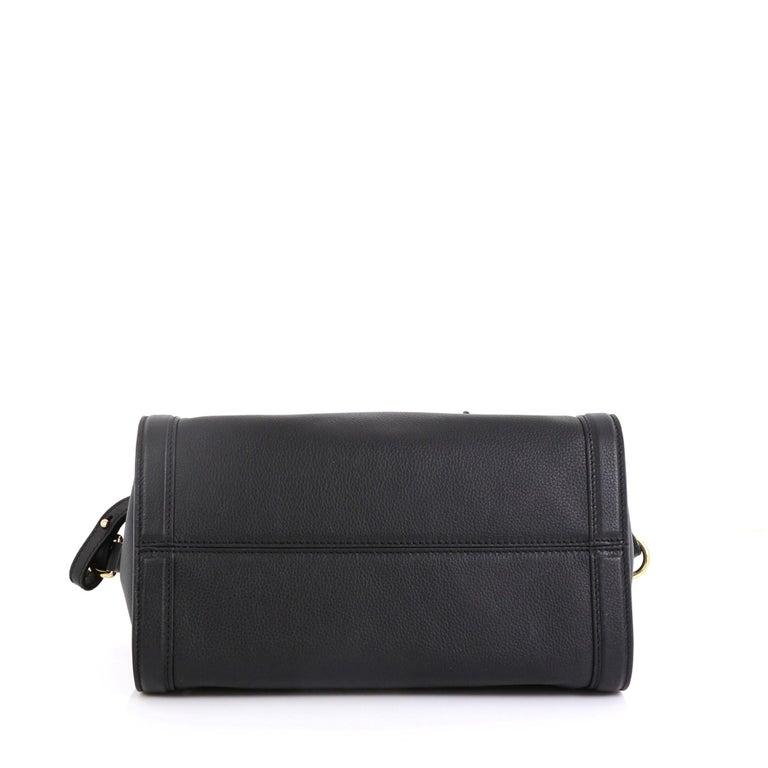 Women's Alexander McQueen Padlock Zip Around Tote Leather Small For Sale