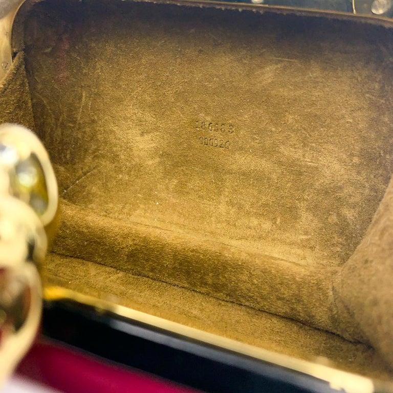 ALEXANDER McQUEEN Pink Skull Clutch Bag For Sale 4