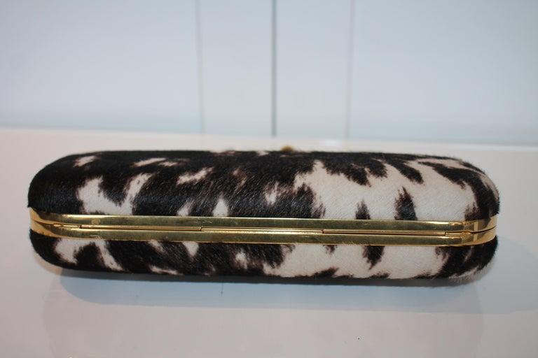 Alexander McQueen Ponyhair Knuckle Duster Clutch For Sale 4