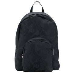 Alexander Mcqueen Printed Jacquard Backpack