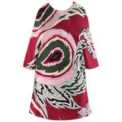 "ALEXANDER McQUEEN S/S 2001 ""Voss"" Pink Paisley Print Silk Halter Top NWT"