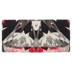 ALEXANDER McQUEEN S/S 2009 Crystal Kaleidoscope Foldover Clutch Wallet w/ Box