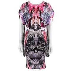 "ALEXANDER McQUEEN S/S 2009 ""Natural Dis-tinction"" Crystal Kaleidoscope Dress"