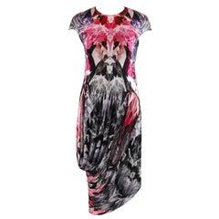 "ALEXANDER McQUEEN S/S 2009 ""Natural Dis-tinction"" Kaleidoscope Crystal Dress 38"
