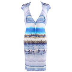 "ALEXANDER McQUEEN S/S 2010 ""Plato's Atlantis"" Geode Jersey Knit Body-Con Dress"