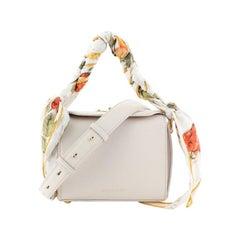 Alexander McQueen Scarf Box Shoulder Bag Leather 16