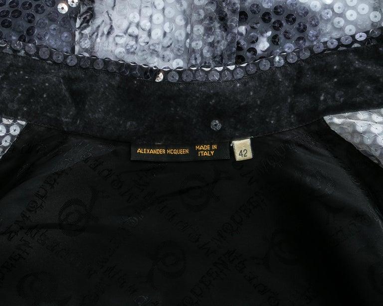 Alexander McQueen sequin 'Joan' blouse, A/W 1998 For Sale 2