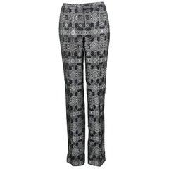 Alexander McQueen Silk Brocade Pants, 2003