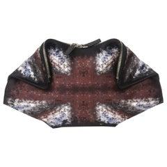 Alexander McQueen Silk Satin De Mantra Clutch