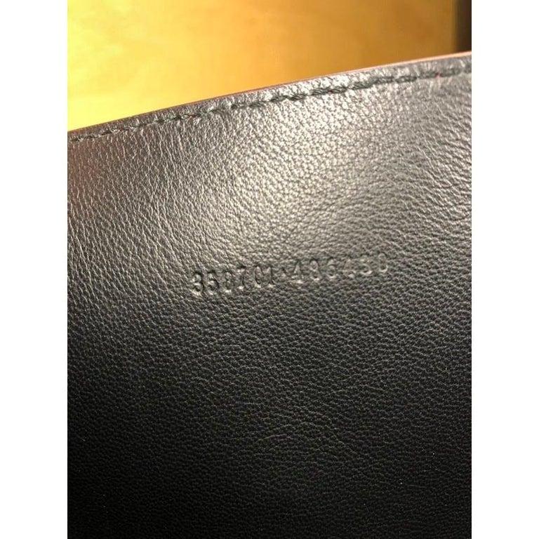 Alexander McQueen Skull Envelope Clutch Leather For Sale 2