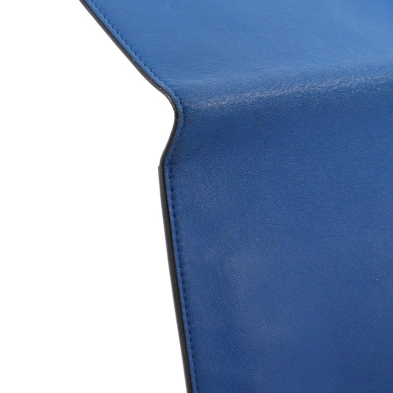 Alexander McQueen Skull Envelope Clutch Leather For Sale 4