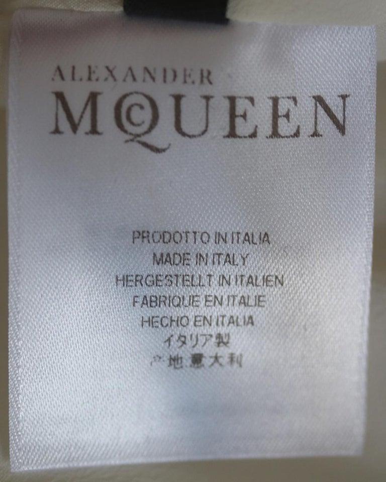 Alexander McQueen Structured-Shoulder Crepe Dress  For Sale 1