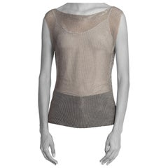 1990'S Alexander Mcqueen Attributed Chainmail Top