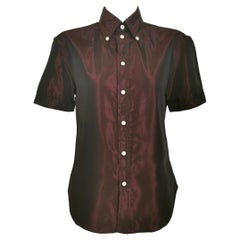 Alexander McQueen Two Tone Fitted Shirt 1996